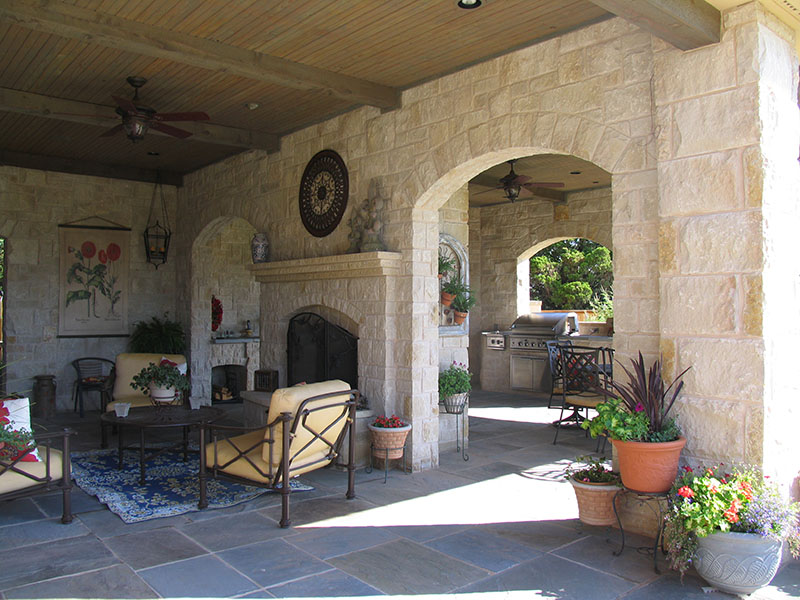 Which Natural Stone Is Best for Your Outdoor Stone Kitchen OKC?