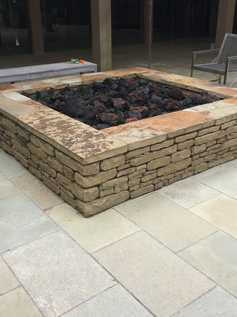 Midway Brown Tumbled - Richburg Stone - 6