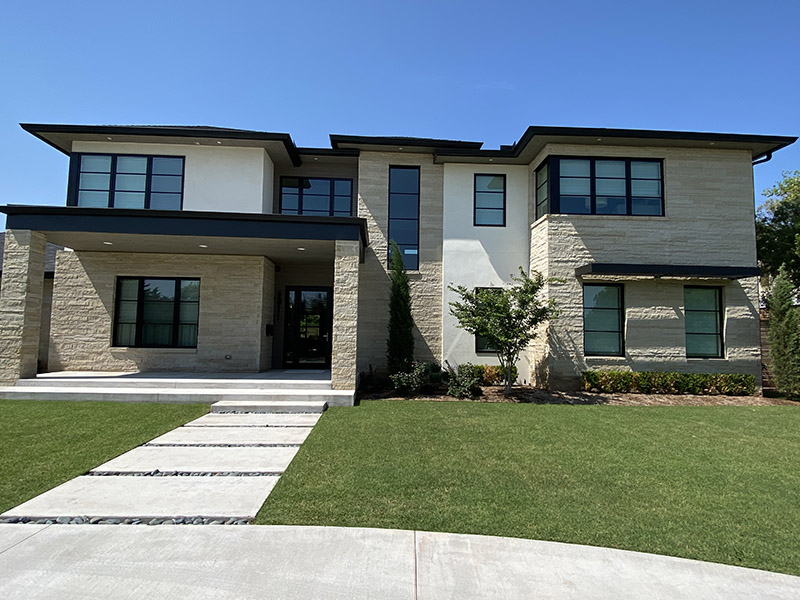 What is a Contemporary Stone Home Style?