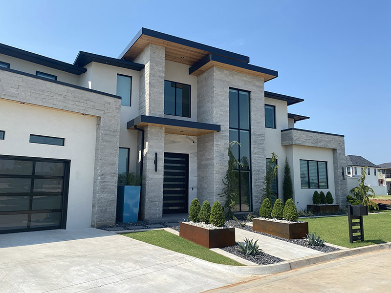 What Are the Good Qualities of Modern Stone Oklahoma for Building a House?